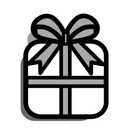 present, box, prize, gift, package, surprise, christmas icon icon