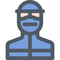 protection, officer, medical, doctor, mask icon icon
