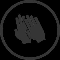 protective gloves, garden gloves, gloves, diy, tool icon icon