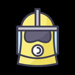respirator, face mask, coronavirus, covid icon icon