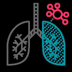 respiratory, pulmonary, virus, disease, coronavirus, covid19, lung icon icon