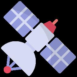 satellite, galaxy, space, science, astronomy, antenna, communication icon icon