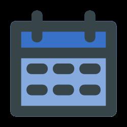 schedule, date, event, calender, daedline icon icon