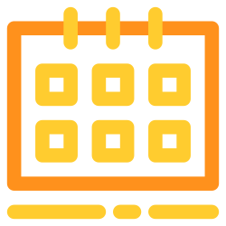 schedule, event, calendar, month, date icon icon