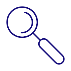 search, loupe, magnifying glass, seo, magnifier, find icon icon