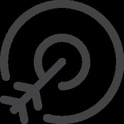 seo, target market icon icon