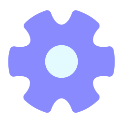 settings, config, basic, options, gear, configure, cog icon icon