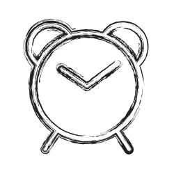 shape, clock, productivity, timer, social icon icon