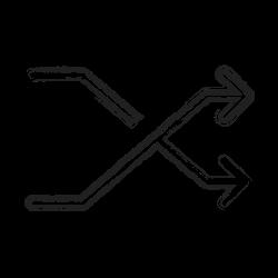shape, random, productivity, social icon icon
