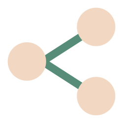 share, network, connection, communication icon icon