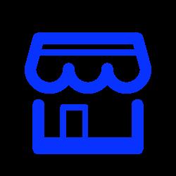 shop, eshop, house, shopping, retail, ecommerce, store icon icon