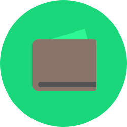 shop, purchase, wallet, money, currency, retail icon icon
