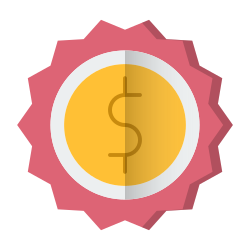 shopping, sold, sale, sign, currency, badge icon icon
