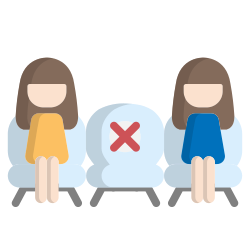 sit, distance, corona virus, safe, social distancing, position, chair icon icon