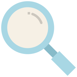 smartphone, ui, mobile, magnifier, application, search, user interface icon icon