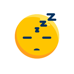 smile, expression, emotion, emoji, sleep, emoticon icon icon