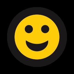 smile, grin, happy, emoticon, emoji icon icon