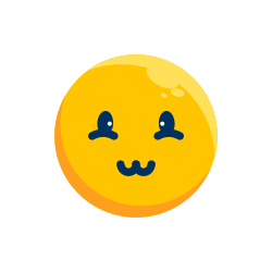 smiley, emotion, face, shy, emoji, emoticon icon icon