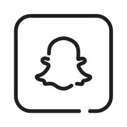 snapchat, social media, chat, story telling icon icon