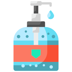soap, gel, clean, cleaning, hygiene, coronavirus, alcohol icon icon