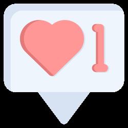 social, communication, bubble, network icon icon