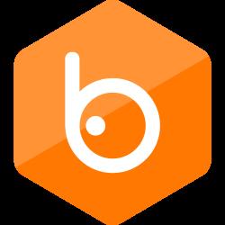 social media, colored, media, high quality, social, hexagon, badoo icon icon