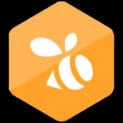 social media, colored, media, high quality, swarm, social, hexagon icon icon