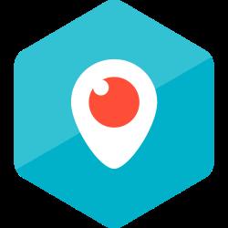 social media, colored, media, high quality, periscope, social, hexagon icon icon