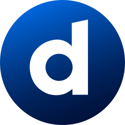 social media, dailymotion, colored, gradient, media, social, circle icon icon