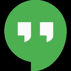 social, media, hangouts, logo icon icon