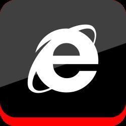social, media, logo, internet, explorer icon icon