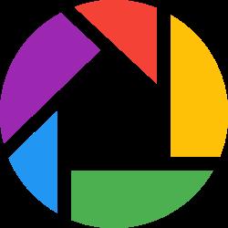 social, media, logo, picasa icon icon