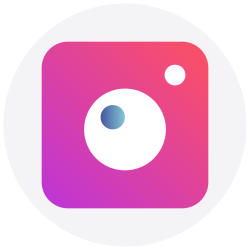 social media, logo, instagram, social icon icon