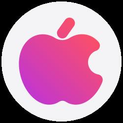 social media, logo, iphone, apple, social icon icon