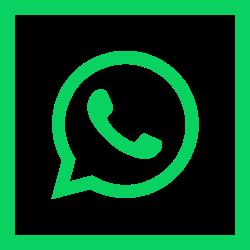 social media, square, colored, media, high quality, social, whatsapp icon icon