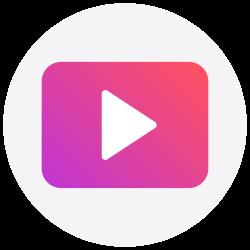 social media, youtube, media play, logo, social icon icon