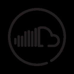 soundcloud, sound, audio, music icon icon