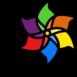 spinner, windmill, decoration, garden icon icon