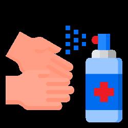 spray, corona, virus, handwash, covid19 icon icon