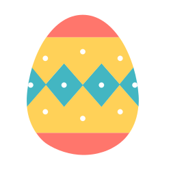spring, paschal, decoration, decorated, easter, egg, celebrate icon icon