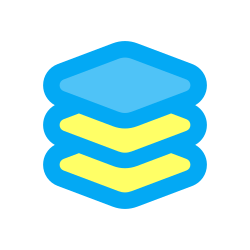 stack, ux, application, layers, app, network, interface, layer, web, ui, interaction, internet icon icon
