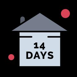 stay, quarantine, risk, event, home icon icon