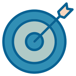 strategy, advertisement, business, marketing, target, goal, advertising icon icon