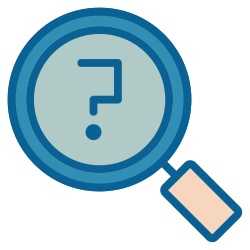 strategy, question, business, advertisement, advertising, marketing, support icon icon