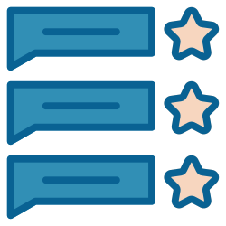 strategy, rating, business, review, advertising, marketing, feedback icon icon