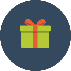 surprise, gift, feature, packet icon icon