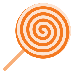sweet, holyday, halloween, stick, candy icon icon