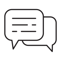talking, meeting, speaking, bubble, ballon, people, discussion icon icon