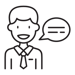 talking, speaking, man, meeting, language, people, appointment icon icon