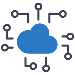 technology, cloud, machine, device, electronic icon icon